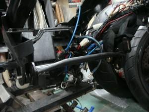 Bw's エンジンハンガー補強